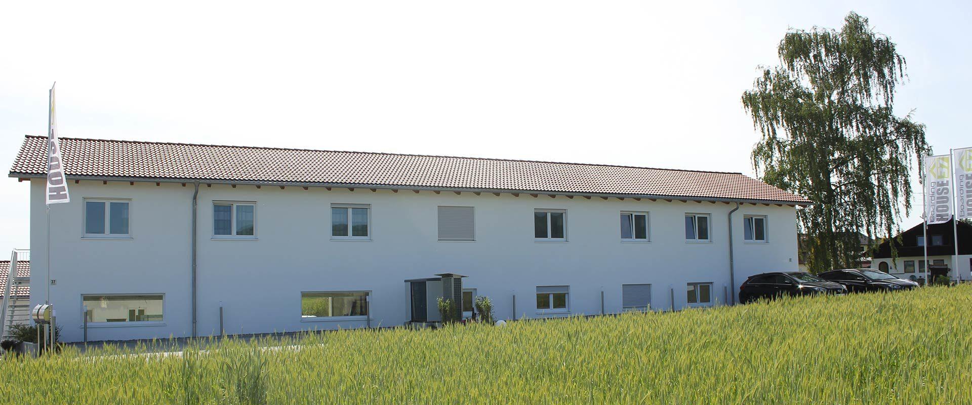 Boardinghouse 37 in Schwarzach von hinten