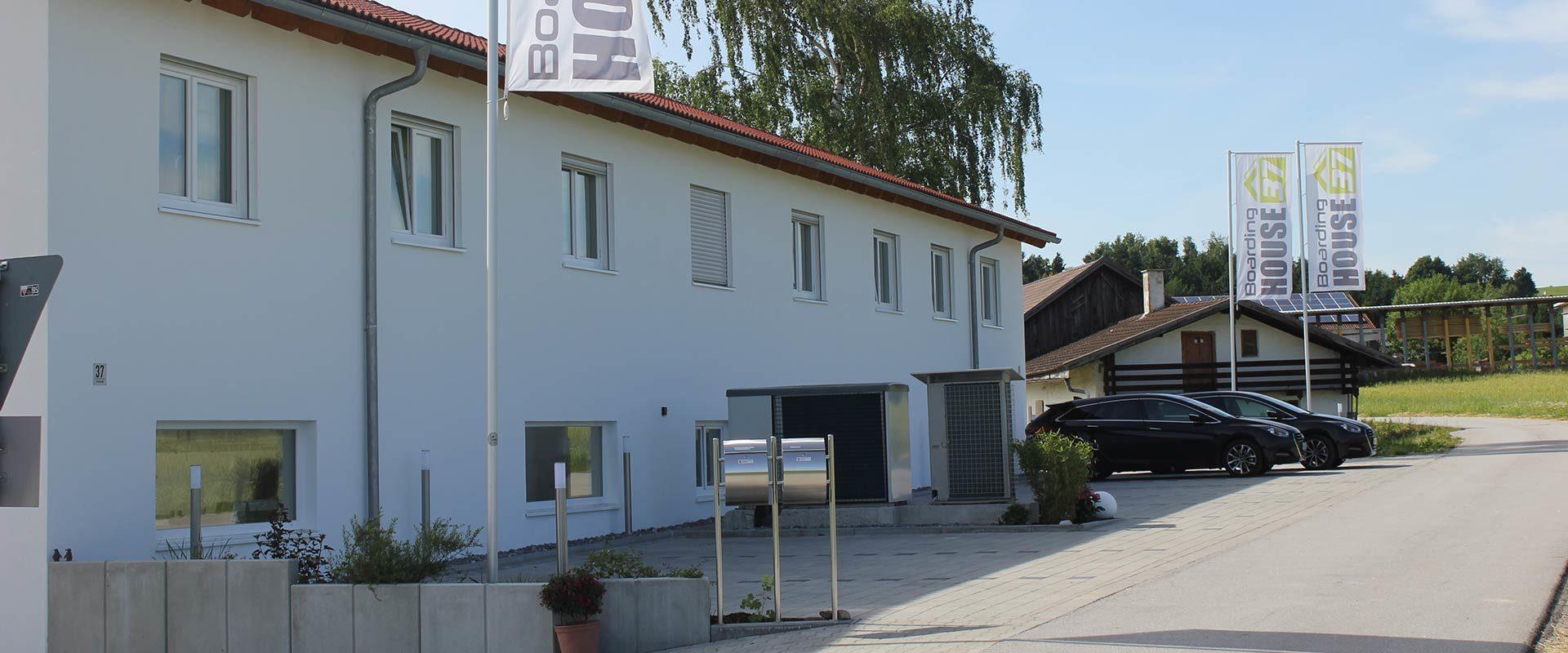 Boardinghouse 37 in Schwarzach von vorne